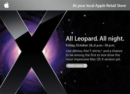 Evento especial para recibir aLeopard
