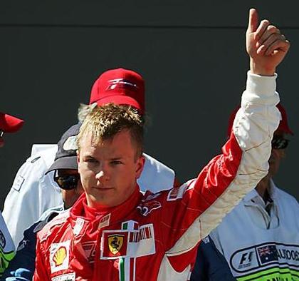 Kimi campeón del mundo de Formula 12007