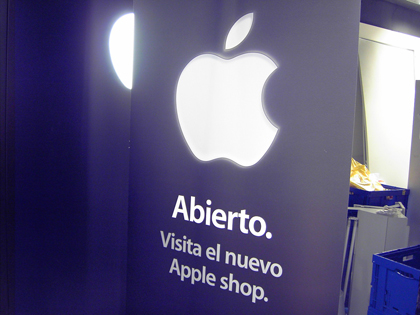 As� es la Apple Shop de Fnac Bilbao