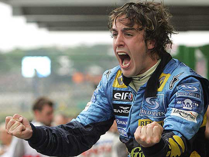 Alonso vuelve a Renault por Navidad