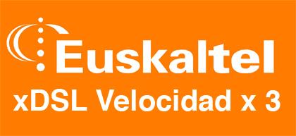 Euskaltel triplica suVelocidad