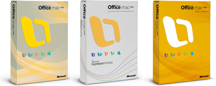 Office para Mac 2008 ya es Gold Master