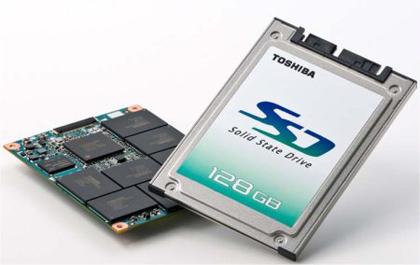 Toshiba saca discos duros SSD de hasta128GB