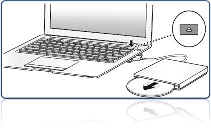 Explicación oficial del botón eject del MacBookAir