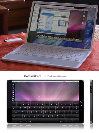 MacBook Nano y MacBookTouch
