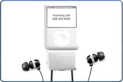 Contestar las llamadas de tu móvil en un iPodNano