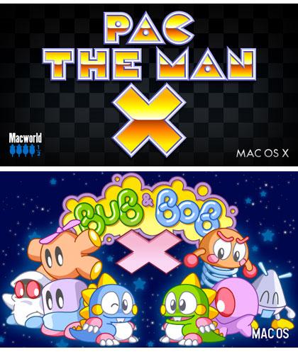 Bubble Bobble y PacMan, Juegos Clásicos en Mac OS X