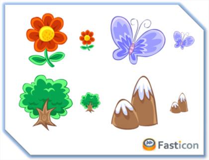 Naturaleza Viva con estos iconos en tu Mac y PC