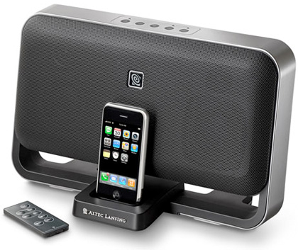 Altec Lansing T612, audio digital para tu iPhone