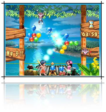 Nuevo juego para el iPod, BubbleBash