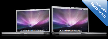 Nuevos MacBook Pro con Multi-Touch