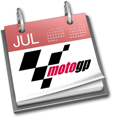Calendario de Moto GP 2010 para iCal y iPhone
