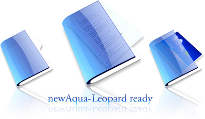 NewAqua-Leopard ready, iconos del Sistema