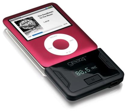 Radio en tu iPod con AirZone FM de gear4