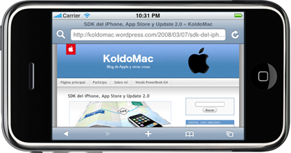 El SDK del iPhone corre en PowerPC