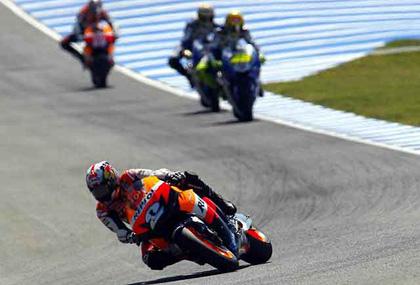Dani Pedrosa, nuevo l�der de MotoGP