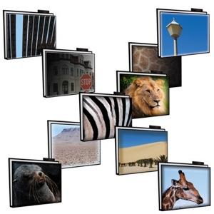 Iconos sobre la Naturaleza en África