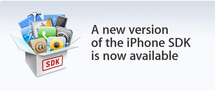 Nueva BETA del SDK del iPhone... y van 4
