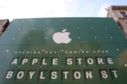 La Apple Store de Boston, la más grande del mundo