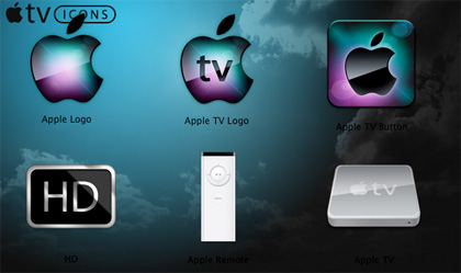 Iconos del Apple TV 512 x 512 y gratis