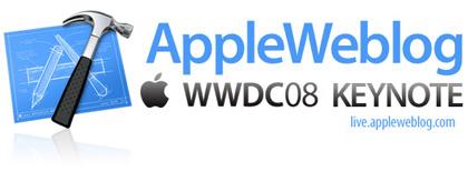 Sigue la WWDC 08 en directo con AppleWeblog