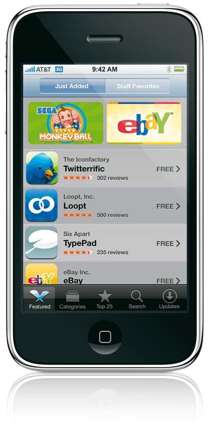 10 millones de descargas de la App Store en el d�a 3