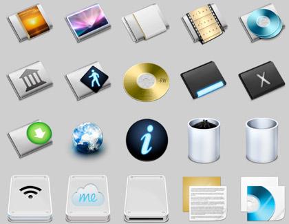 Set de 51 iconos preciosos para tu Mac