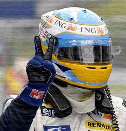 Alonso gana en el GP Japón 2008