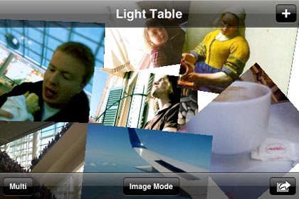 Light Table, crea collages desde tu iPhone