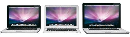 Apple nos detalla la nueva familia de MacBooks