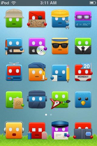 Más de 300 Iconos Graciosos para tu iPhone