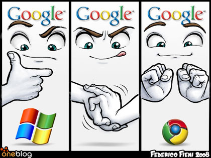 Google Chrome... la creación del logotipo