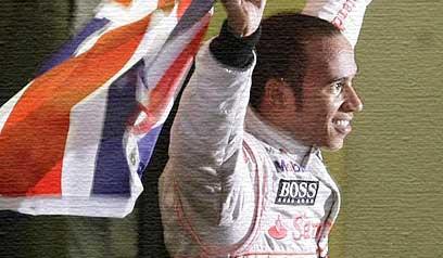 Hamilton gana el mundial en la última curva