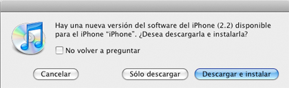 Como ya sabréis, ya disponible iPhone 2.2