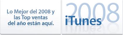 Apple nos presenta lo mejor del 2008 en iTunes