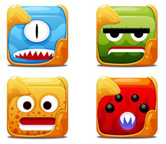 Unos monstruos de iconos para tu Mac