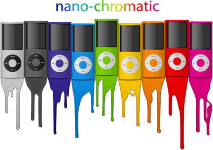 El PSD original de los iPods Nano Chromatic gratis