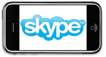 Skype disponible en la App Store para el iPhone