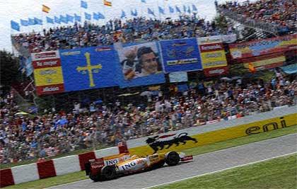 Alonso logra un Quinto puesto en MontMeló