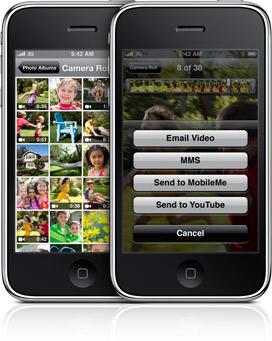 Aumenta un 400% las subidas de vídeos a YouTube desde el nuevo lanzamiento del iPhone 3GS... casualidad?