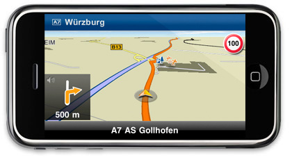 MobileNavigation, software de GPS profesional para el iPhone