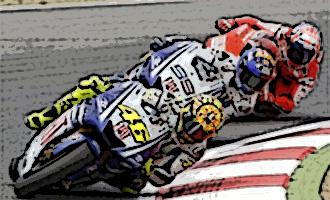 Carrerón hoy de Moto GP en el GP de Catalunya 09