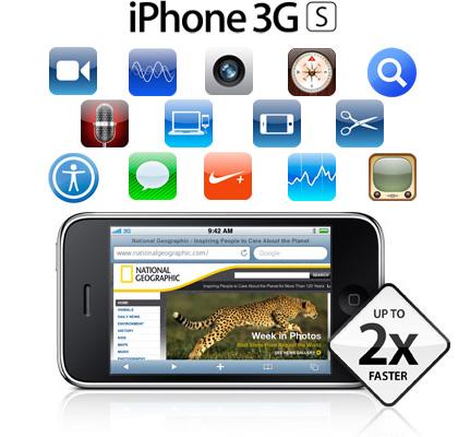 Nuevo iPhone 3GS, características y prestaciones
