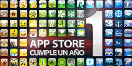 Apple ya celebra el Primer Aniversario de la App Store