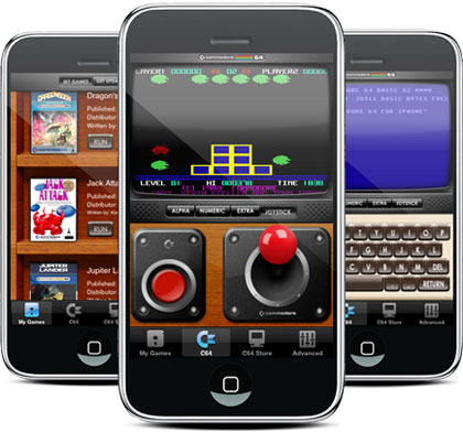Emulador de Commodore 64 para el iPhone