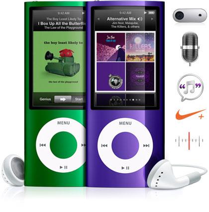 La estrella de la Keynote, el nuevo iPod Nano 5th