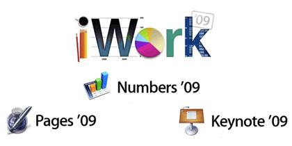 Nueva actualización de Apple, iWork'09 9.0.3