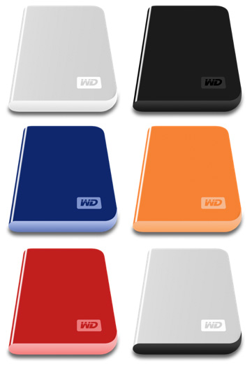 Iconos para el HD de WD My Passport