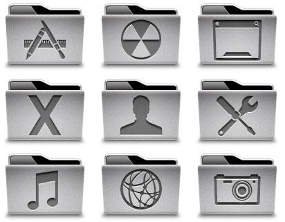 Nuevo Set de Iconos basados en el MacBook Unibody