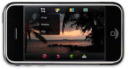 Photoshop Mobile, Photoshop para el iPhone